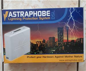 Best Lightning protection for your ADSL router - The Astraphobe