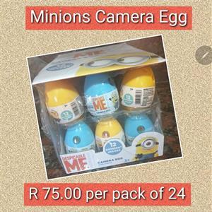 Minions camera egg for sale