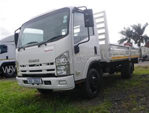 a 2014 Isuzu NPR400 automatic dropside truck  - AA3012