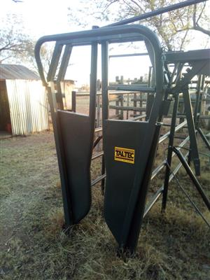 Brand New Tal-tec Brahman neck clamp, Cattle Crush & Guillotine Gate - all 3 for one price