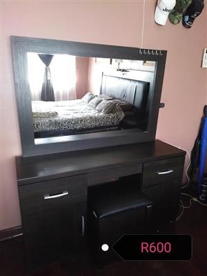 Dark wooden dresser for sale