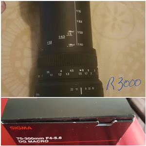 Sigma Macro Lens 70-300