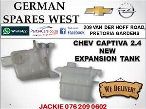 CHEV CAPTIVA 2.4 NEW EXPANSION TANK FOR SALE