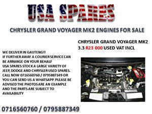CHRYSLER GRAND VOYAGER MK2 3.3 ENGINES FOR SALE