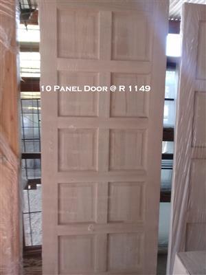 New 6,8 or 10 Panel Doors