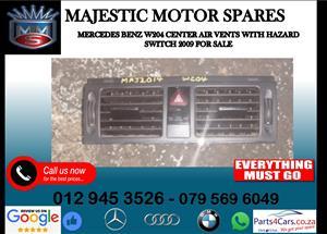 Mercedes benz W204 centre air vents for sale