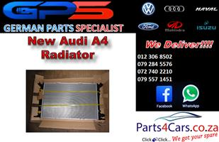 New Audi A4 Radiator for Sale