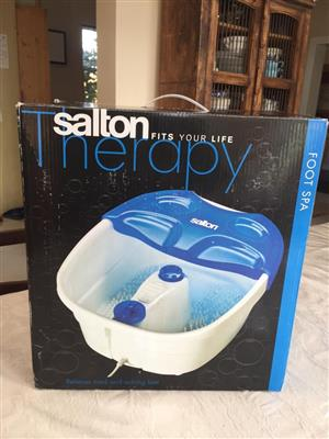 SALTON - Foot Spa Sfs-107 - give your feet a treat!