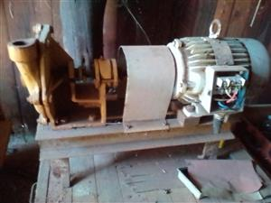 Water pump with 3fase ell motor