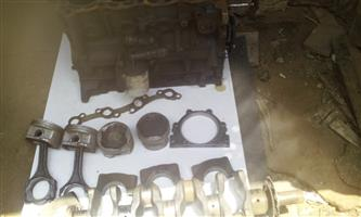 GOOD CONDITION ENGEN WITH PISTONS