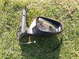 Golf 6 GTI RH Door Mirror Electric with Indicator
