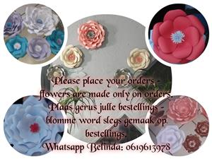 PAPER FLOWERS FOR SALE