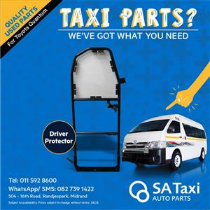 Driver Protector for Toyota Quantum - SA Taxi Auto Parts quality used spares