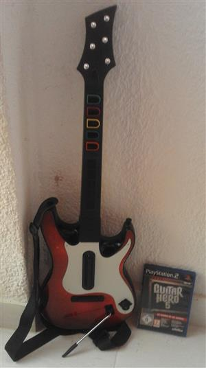 Guitar Hero for PS2 with the Disc