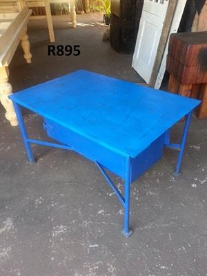 Blue work table