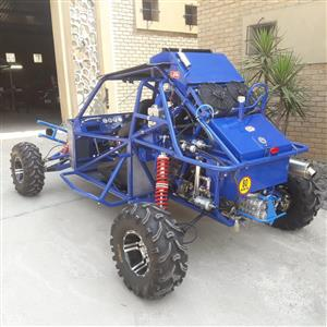 Off Road buggie, great fun and super fast! Ideal for fun outdoors adventure seakers!