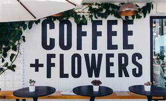 Coffee & Flower shop for sale