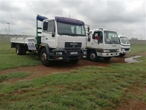 8 TON TRUCKS FOR HIRE