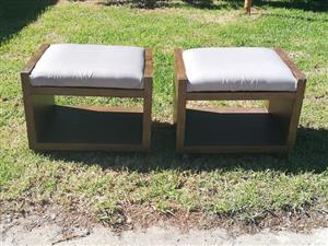 2 x Stools for sale