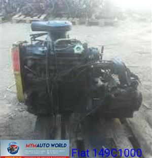 Imported used FIAT UNO/FIORINO 1.5L, 149C1000, Complete second hand used engines