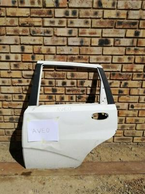 Chevrolet Aveo Left Rear door  Contact for Price