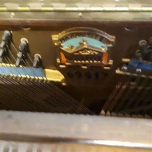 Monington and Weston piano 1956