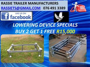 Lowering Device/ Funeral Equipment Special