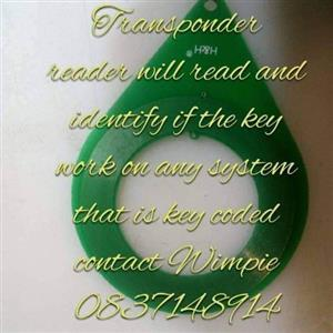 transponder ring reader