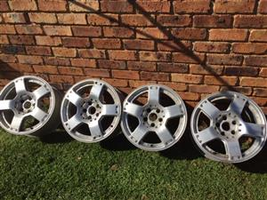 Audi / VW 17 inch Mags