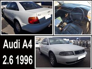 Audi A4 2.6 1996  stripping for spares.