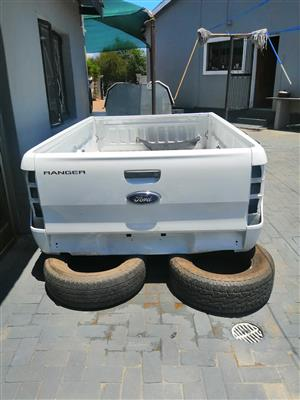 Original Ford Ranger T6 /7 Single Cab loadbin with tailgate for sale