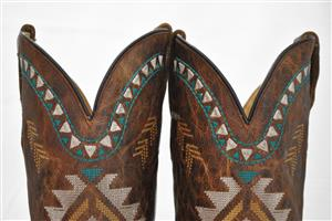 Mia Embroidered Snip Toe Cowboy / Western Boot - Hand Made in Mexico