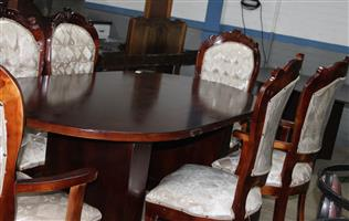 7 piece dining room suite S032838B #Rosettenvillepawnshop