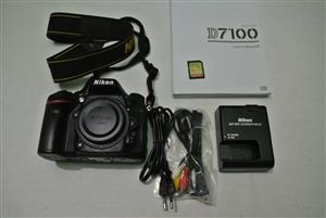 Nikon D7100 DSLR BODY Shutter count 4306