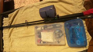Rods, reel and lures