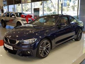 2019 BMW 4 Series 420d coupe M Sport