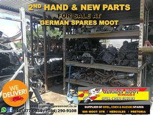 SECOND HAND & NEW PARTS FOR SALE AT GERMAN SPARES MOOT!