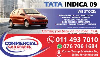 New Tata Indica 09- Body Parts And Spares For Sale At Car Spares