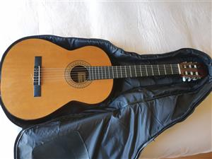 Admira Juanita Classical Guitar and Travel/Storage Bag For Sale