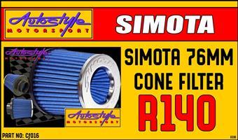 Simota Dual Cone Air Filter