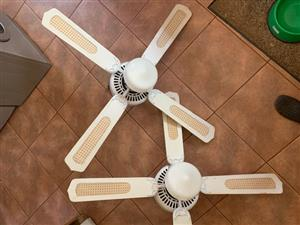 Ceilng Fan and light (2)