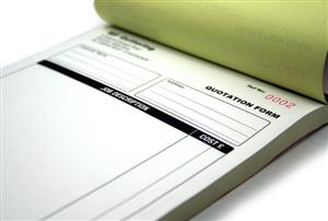 Personalised Company Books Printed / Numbered / Perforated and Bound to your company specs