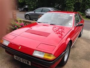 Ferrari 400i exhaust manifolds / any damaged Ferrari mechanical or body damage. Any Ferrari parts bought.