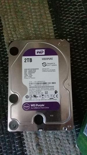 Brand new 4 TB surveillance type hard drives for sale. Seagate Skyhawk and WD Purple.