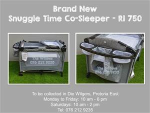 Brand New Snuggle Time Deluxe Co-Sleeper