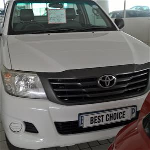 2011 Toyota Hilux single cab HILUX 2.4 GD 6 RB SRX P/U S/C