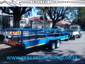 6000MM UTLITY TRAILER DOUBLE AXLE.
