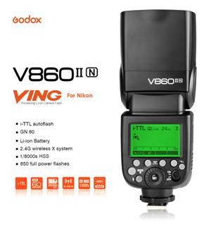 Brand New Godox V860ii for Nikon with Godox X1 trigger for Nikon
