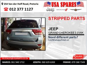 JEEP GRAND CHEROKEE 3.0 WK1 STRIPPED PARTS FOR SALE