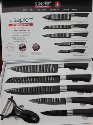 Zepter 6 piece knife set
